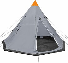 4-person Tent Grey - Youthup
