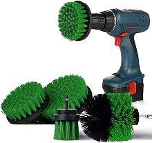 4 Piece Brush Drill Accessory Set, Cordless