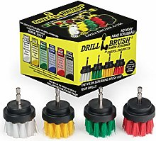 4 Piece Drill Brush Small Diameter Cleaning