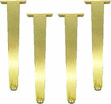 4 Pieces Adjustable Furniture Legs Gold Furniture