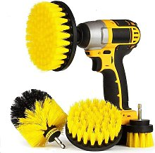 4 Pieces Cleaning Brush Electric Drill - Electric
