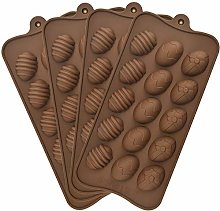 4 Pieces Easter Egg Chocolate Mold Easter Candy