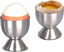 4 Pieces Egg Cup Set,Stainless Steel Egg Cups Set