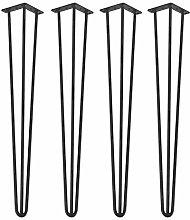 4 Pieces Furniture Feet Furniture Legs Tripod