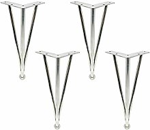 4 Pieces Furniture Legs,Adjustable Hairpin