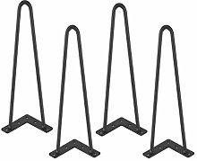 4 Pieces Furniture Legs Furniture Feet Metal Table