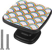 4 Pieces Furniture Wardrobe Knobs Rainbowbay