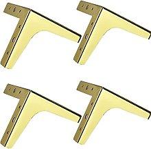4 Pieces Metal Furniture Legs DIY Replaceable