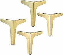 4 Pieces Metal Furniture Legs,Modern Triangle