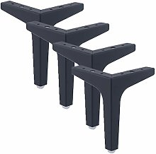 4 Pieces of Furniture Feet Metal Furniture Legs
