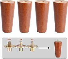 4 Pieces of Legs for Wooden Furniture, Legs for
