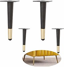 4 Pieces of Replacement Furniture Legs, Tapered