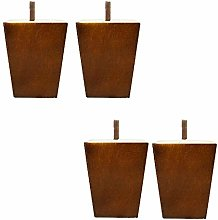 4 Pieces Replacement Sofa Legs,Solid Wooden