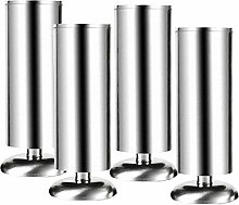 4 Pieces Stainless Steel Cabinet Legs,Metal