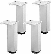 4 Pieces Table Leg, 100% Aluminium,Cabinet Legs