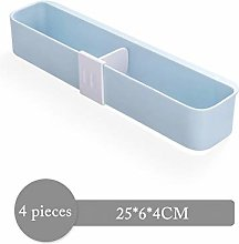 4 Pieces Wall Mounted Shoes Rack, Home Shoes Shelf