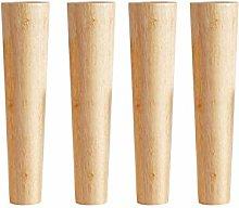 4 Pieces Wood Furniture Feet Furniture Legs