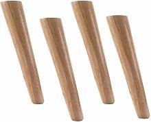 4 Pieces Wood Furniture Feet Furniture Legs Tilt