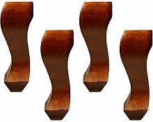 4 Pieces Wood Furniture Feet Furniture Support