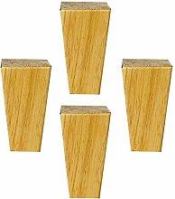4 Pieces Wood Furniture Feet Square Furniture