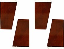 4 Pieces Wood Furniture Legs Trapezoid Furniture