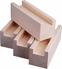 4 Pieces Wood Furniture Risers,Lift Wood,Table