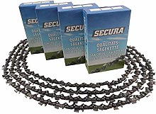 4 Saw Chains fits Oleo-Mac 937 | 38cm 0.325 64DL