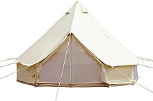 4-Season Cotton Tent Waterproof Glamping Tent