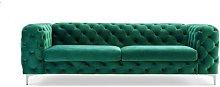 4 Seater Chesterfield Sofa BelleFierté Upholstery