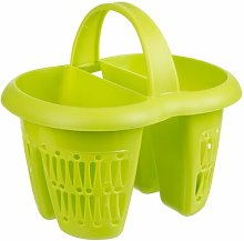 4 Section Drain Tray Symple Stuff Finish: Green