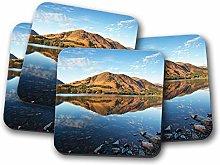 4 Set - Buttermere Lake District Coaster - Cumbria