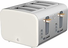 4 Slice Nordic Style Toaster White, Appliance Type
