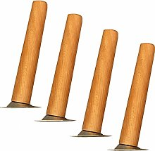 4 Solid Wood Furniture Replacement Legs,Sofa