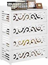 4 Tier Shoe Rack, Shoe Cabinet Cupboard Storage