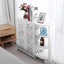 4 Tier Shoe Rack, Shoe Cabinet Cupboard White