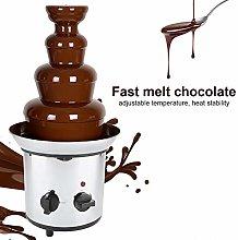 4 Tiers Chocolate Fondue Fountain, Chocolate