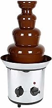 4 Tiers Tower Chocolate Fountain, Stainless Steel