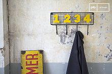 4 wall coat rack