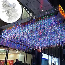 4 x 0.6m 96LEDs Icicle Light Extendable Twinkle