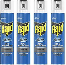4 x 300ml Fly Wasp Killer Rapid Action Insect