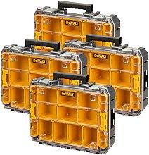 4 x Dewalt DWST82968-1 TSTAK Watersealed Stackable
