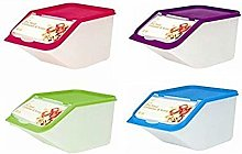 4 X Food Storage Containers with Scoops Kitchen