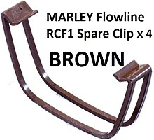 4 X RCF1BR (Brown) Marley Flowline Square Profile