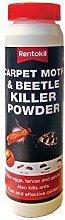 4 X Rentokil Carpet Moth Beetle Killer Powder