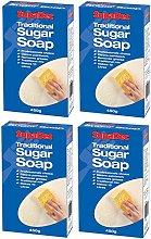 4 x SupaDec Traditional Sugar Soap Grease Remover