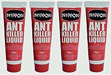4 X Vitax Nippon Ant Killer Liquid 25g