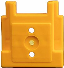 4 x Yellow StealthMounts Tool Mount for Dewalt 18v