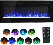 40 Inch Electric Fireplace Wall Mounted Electrical