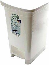 40 Litre Plastic Slim Eco Pedal Bin Dustbin
