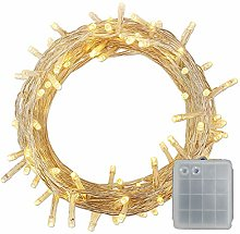 400 LED Battery Power Operated String Fairy Lights